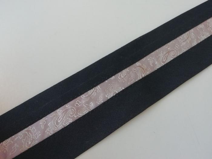 Betelie de pantaloni cu insert banda jaquard [0]