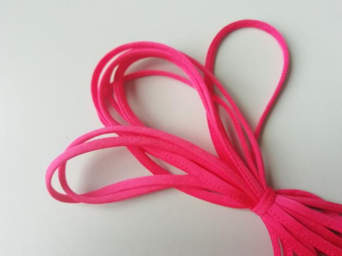 Banda tip spaghetti roz 1