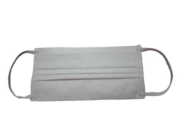 Masca textila de unica folosinta, din 3 straturi de material netesut, cu 3 pliuri [0]