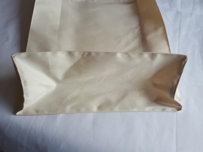 Sacosa cu burduf, maner scurt, 38 x 37 cm 1