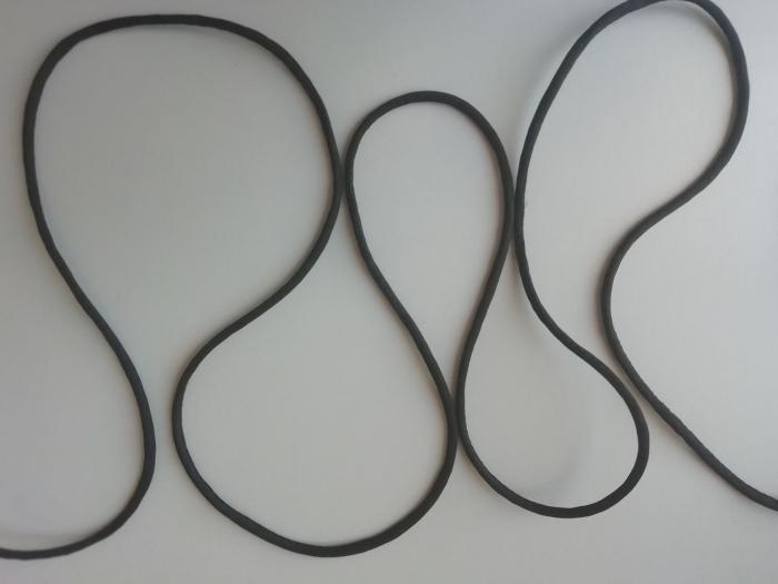 Banda spaghetti, aspect rotund 1