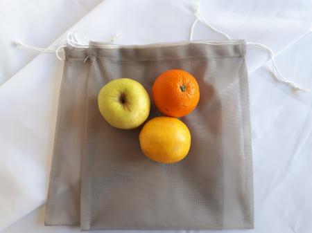 Sac poliester pentru cantarit legume si fructe, 30 x 35 cm [1]