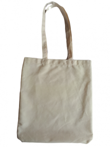 Sacosa textila din policotton, cu maner lung, 33 x 35 cm0