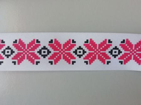 Banda imprimata cu model traditional0