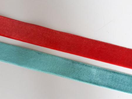 Banda tesuta din catifea, 25mm0