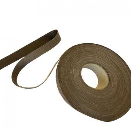 Banda din piele ecologica maron, 2,5cm latime [0]