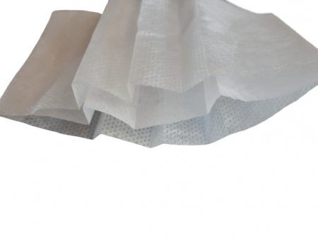 Masca textila de unica folosinta, din 3 straturi de material netesut, cu 3 pliuri [1]