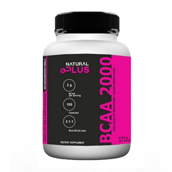 Recipient BCAA 2000 - 100 capsule de la Natural Plus 0