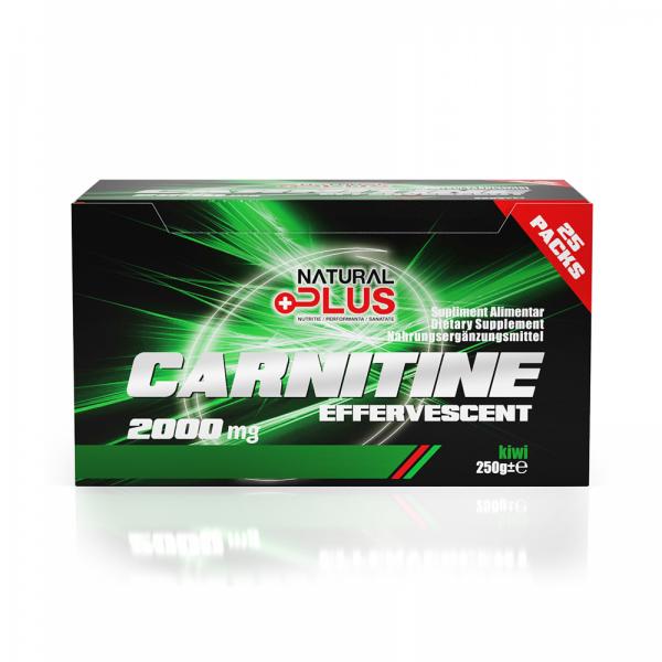 Recipient CARNITINE EFERVESCENT 25 plicuri de la Natural Plus 0