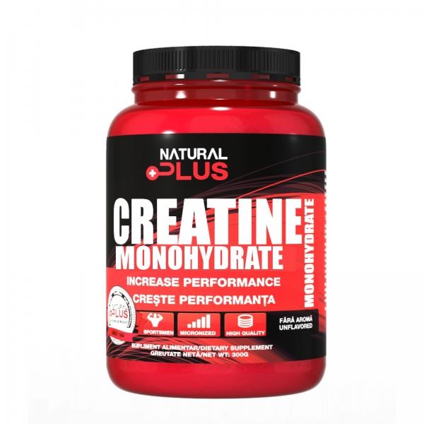 Recipient CREATINA MONOHIDRATA 300 g de la Natural Plus 0