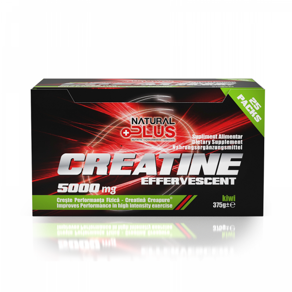 Recipient CREATINE EFERVESCENT 25 plicuri de la Natural Plus 0