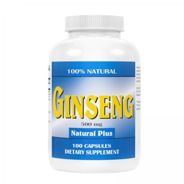 Recipient GINSENG 500 mg tablete de la Natural Plus 0