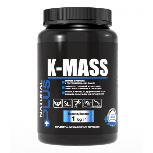Recipient 	K-MASS 1 kg de la Natural Plus 0