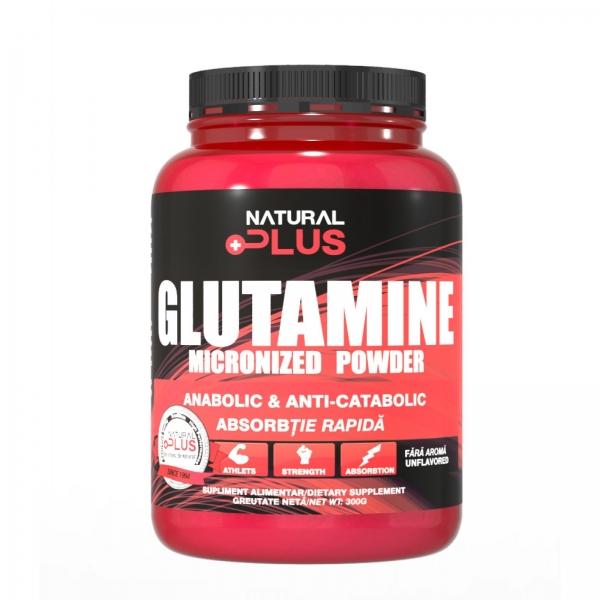 Recipient L-GLUTAMINE 300 g de la Natural Plus 0
