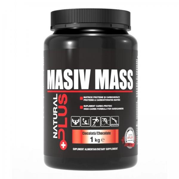 Recipient MASIV MASS 1 kg de la Natural Plus 0