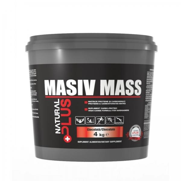 Recipient MASIV MASS 4 kg de la Natural Plus 0