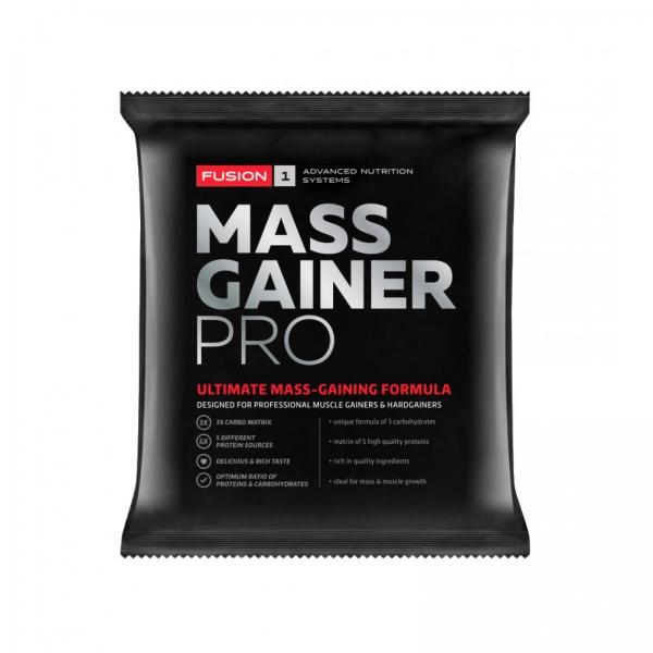 Recipient MASS GAINER PRO - Plic 45 g de la Fusion 1 0