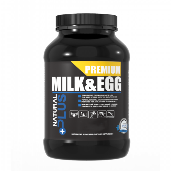 Recipient PREMIUM MILK & EGG 1.5 kg de la Natural Plus 0