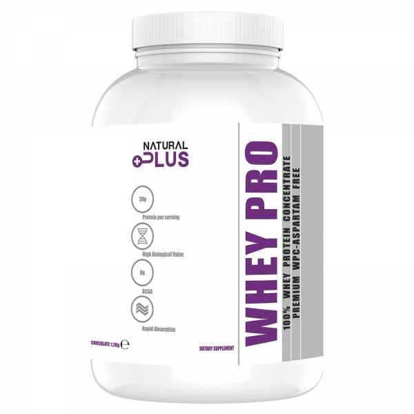 Recipient PREMIUM WHEY PRO 1.2 kg de la Natural Plus 0