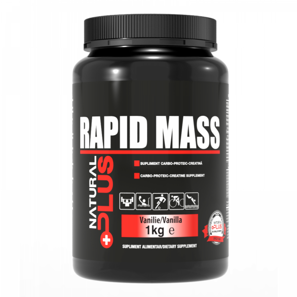 Recipient 	RAPID MASS 1 kg de la Natural Plus 0
