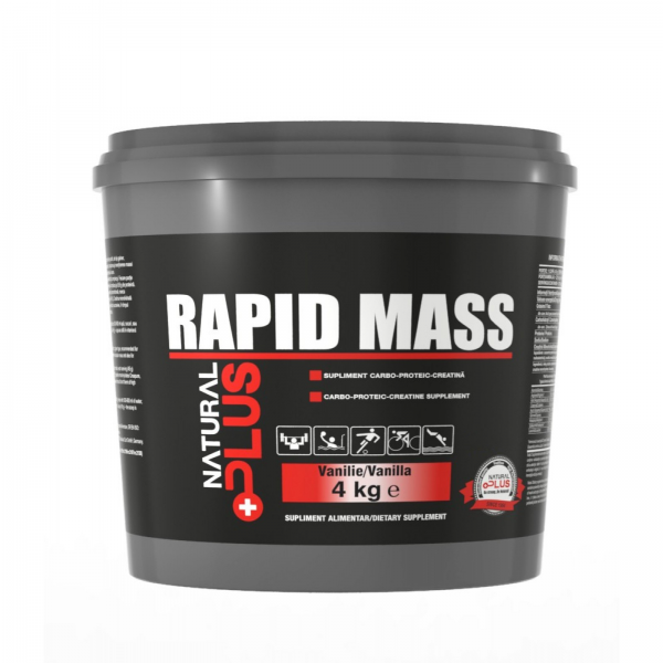 Recipient 	RAPID MASS 4 kg de la Natural Plus 0