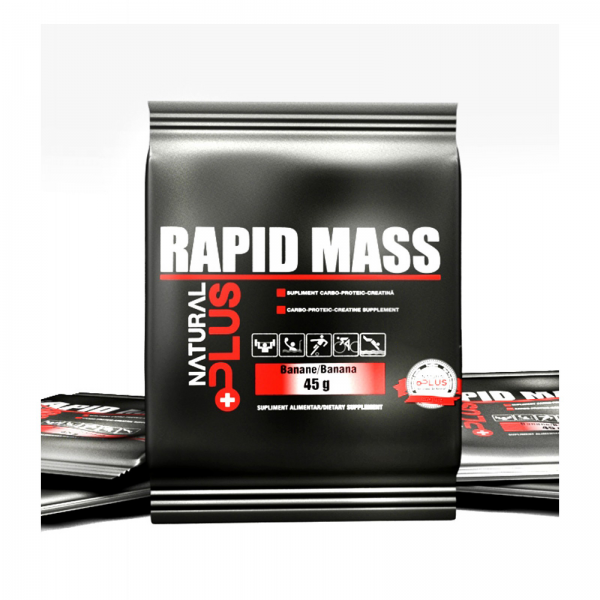 Recipient 	RAPID MASS plic 45 g de la Natural Plus 0