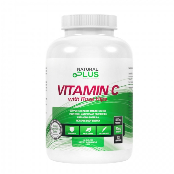 Recipient VITAMINA C 500 mg de la Natural Plus 0