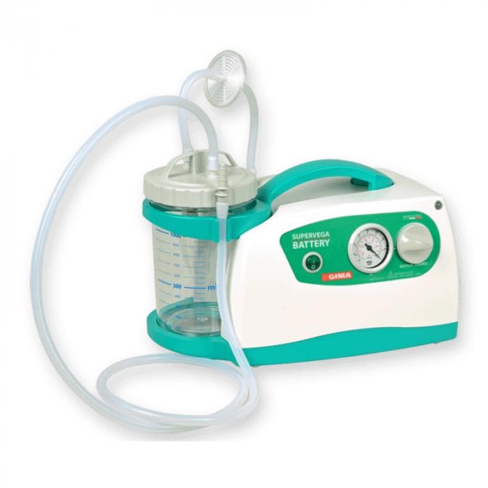 Aspirator chirurgical / de secretii cu acumulatori Super Vega 16 | Totalmed Aparatura Medicala [0]