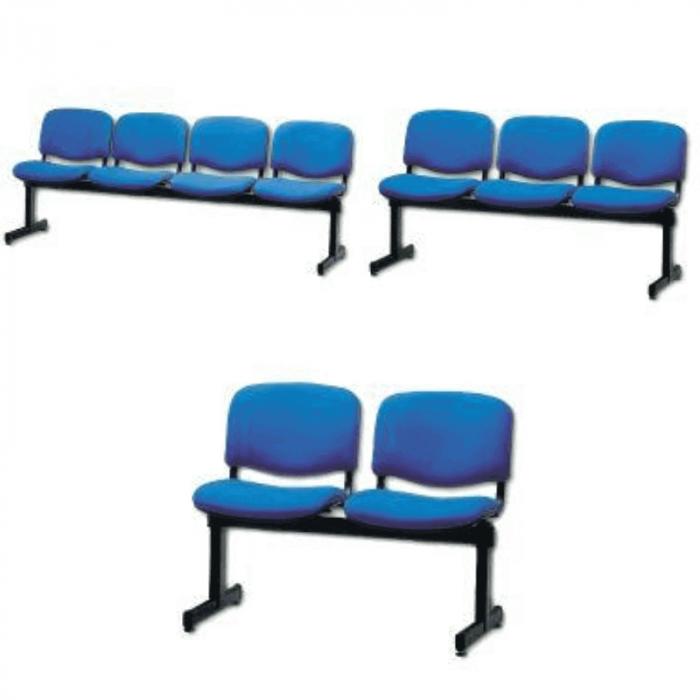 Bancheta din plastic pentru sala de astepare   Totalmed Aparatura Medicala [0]