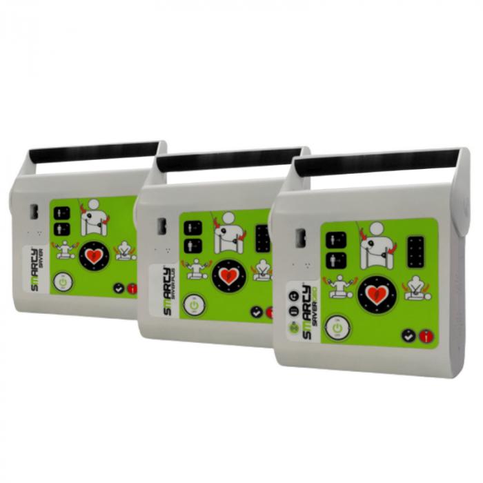 Defibirlator Smarty Saver semi-automatic cu electrozi Face to Face (F2F) [0]