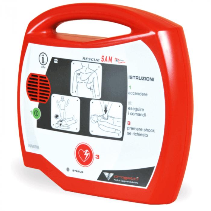Defibrilator RESCUE SAM AED   Totalmed Aparatura Medicala [0]