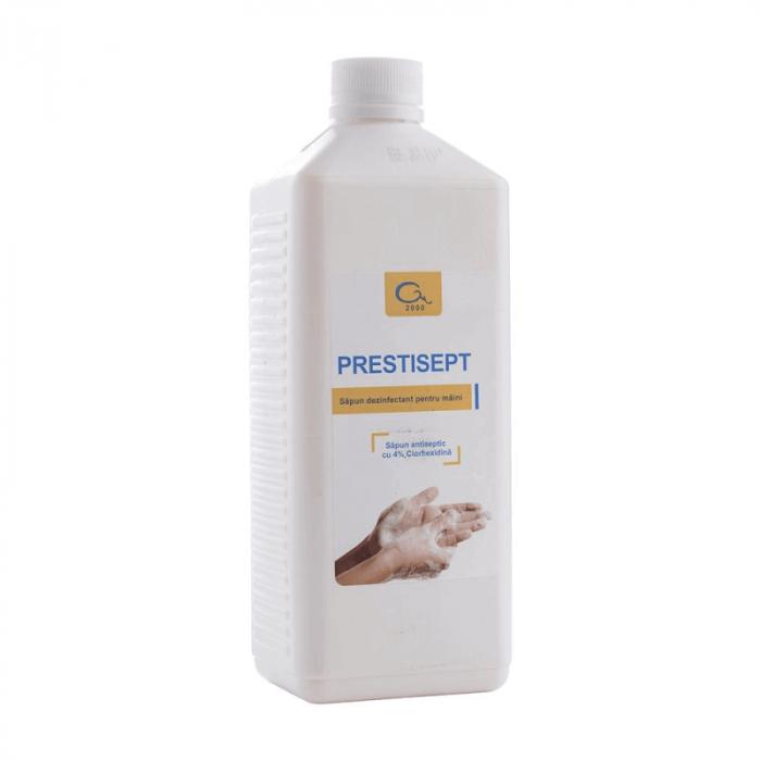 Sapun lichid dezinfectant Prestisept | Totalmed Aparatura Medicala [0]