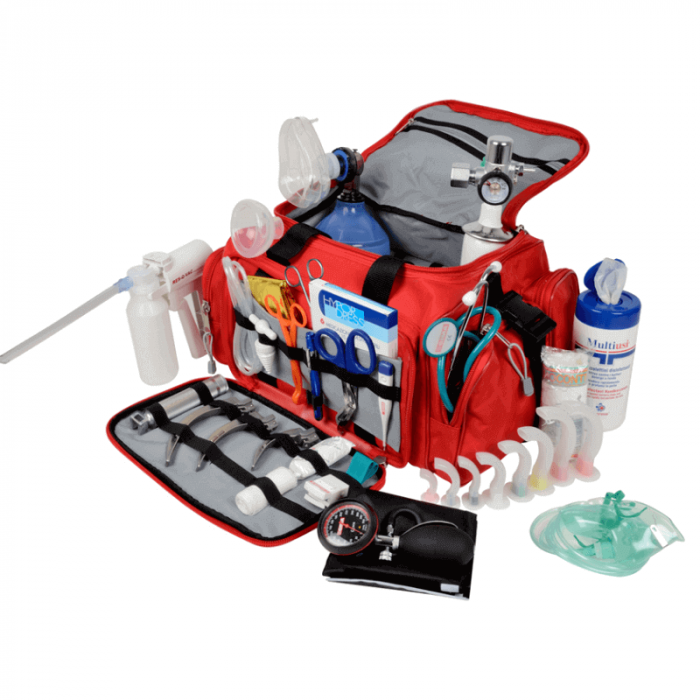 Geanta de urgente complet echipata GIMA 5 | Totalmed Aparatura Medicala [0]