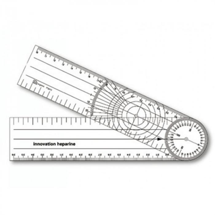 Goniometru 205x45 mm   Totalmed Aparatura Medicala [0]