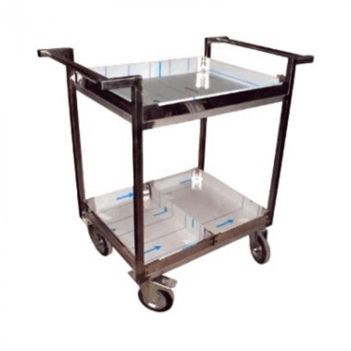 Masa mobila din inox pentru transport alimente   Totalmed Aparatura Medicala [0]