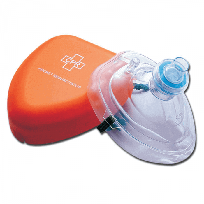 Masca de respiratie gura la gura CPR | Totalmed Aparatura Medicala [0]