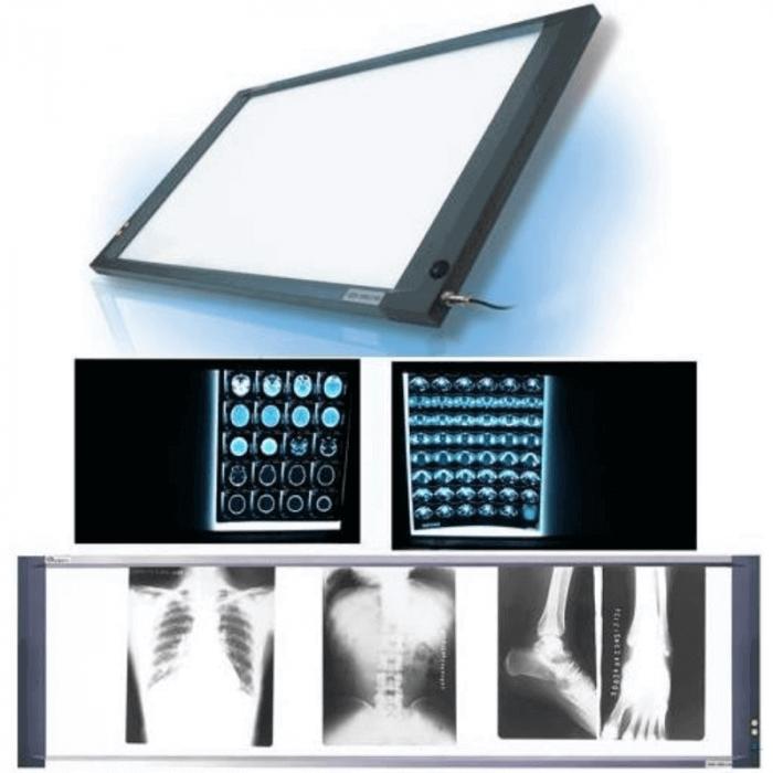 Negatoscop LED SLIM 2 panouri | Totalmed Apartura Medicala [0]