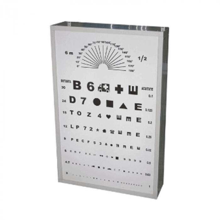 Optotip iluminat 65 x 50 cm   Totalmed Aparatura Medicala [0]
