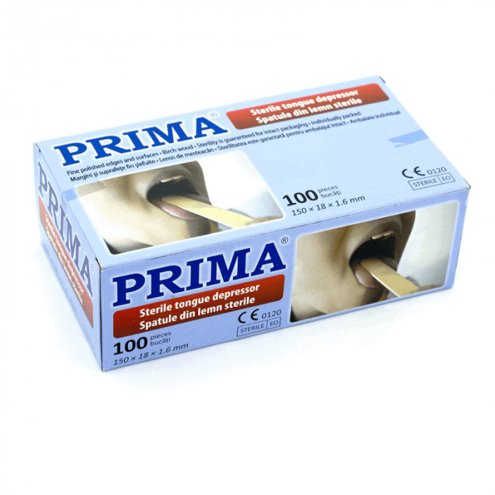 Spatule lemn sterile si ambalate individual | Totalmed Aparatura Medicala [0]