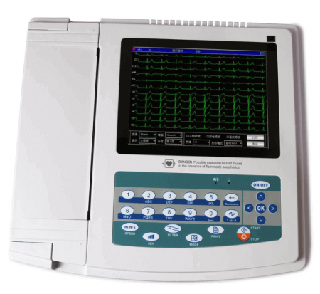 Electrocardiograf CMS 1200G   Totalmed Aparatura Medicala [0]