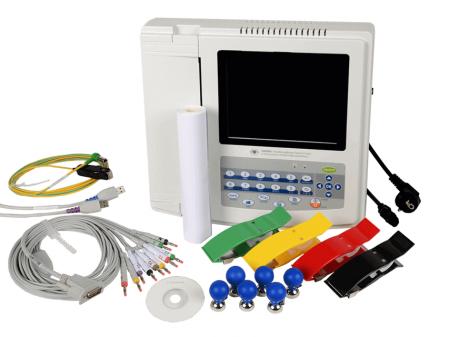 Electrocardiograf CMS 1200G   Totalmed Aparatura Medicala [1]