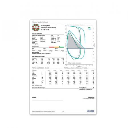 Spirometru New Spirolab M.I.R.   Totalmed Aparatura Medicala [2]