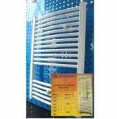 RADIATOARE DE BAIE DIN OTEL - CURBATE - PROFIL ROTUND