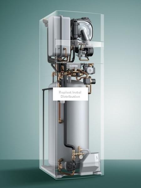Centrala Termica pe gaz in condensare 26kW Vaillant ecoCompact VSC INT 266/4 - cu boiler incorporat 200 L 2