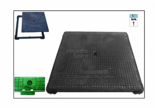 CAPAC PATRAT 625 X625 CU INCHIZATOR 0