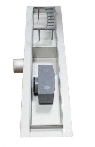 Rigola de dus Ermetiq cu izolatie pentru placari gresie 700x70mm VEN-S707B 2