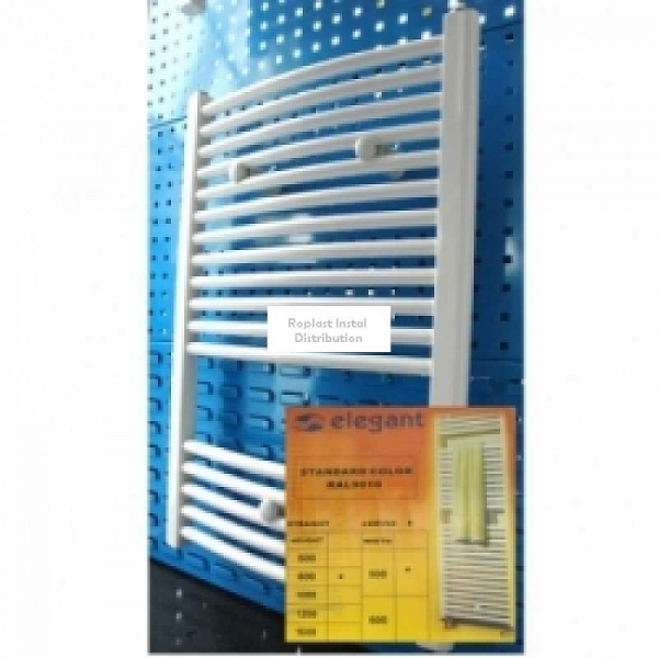 Radiator otel portprosop curbat cu profil rotund, ELEGANT YF 600x500 0