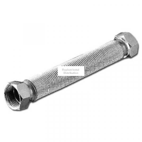 Racord din inox pt gaz 1/2*80cm [0]