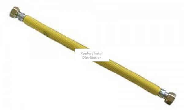 "Racord extens inox gaz 30-60cm 1/2""  FI 0"