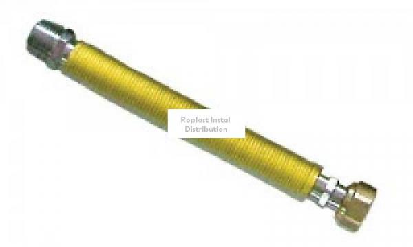 "Racord extens inox gaz 30-60cm 1/2"" FI-FE 0"